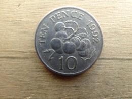 Guernesey  10  Pence  1992  Km 43 - Guernsey