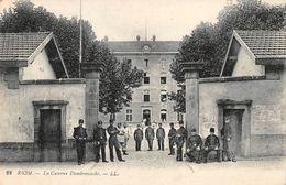 RIOM - La Caserne Dombrowoski - Riom
