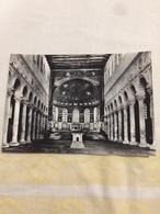 Cartolina-Ravenna-Basilica Di S. Apollinare In Croce VI Sec.- Interno - Ravenna