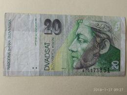 20 Korun 1993 - Slovaquie