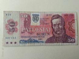 50 Korun 1987 - Slovaquie