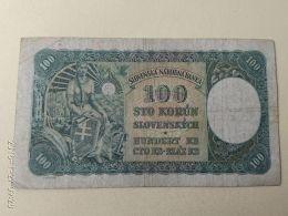 100 Korun 1940 - Slovaquie