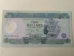 2 Dollari 2001 - Isola Salomon
