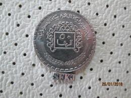 SYRIA 50 Piastres 1974 - 1394 # 6 - Syria