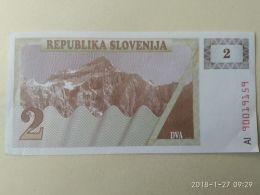 2 Tolars 1990 - Slovenia