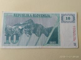 10 Tolars 1990 - Slovenia