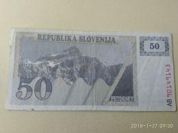 50 Tolars 1990 - Slovenia