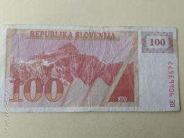 100 Tolars 1990 - Slovenia