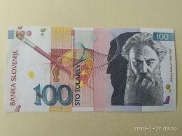 100 Tolarjev 1992 - Slovenia