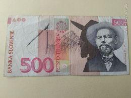 500 Tolarjev 1992 - Slovenia
