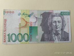 1000 Tolarjev 1992 - Slovenia