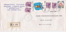 Brief In Die Schweiz (br2710) - 6. 1946-.. Republic