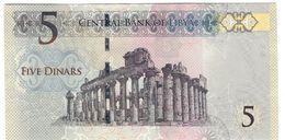Libya 5 Dinars 2015 UNC - Libia
