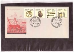 """AUSFDC275  -   MELBOURNE  2.10.1985    /  """"  COASTAL SHIPWRECKS   """"  -   FDC  Y.T. Nr.  923/26 - Ersttagsbelege (FDC)"""