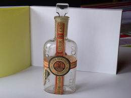Flacon Elixir Dentifrice Des RRPR Bénédictins - Unclassified