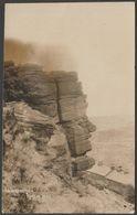 Man's Head Rock, Rivelin, Sheffield, Yorkshire, C.1910 - Sneath RP Postcard - Sheffield