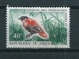 1970 Niger 40F Birds,oiseaux,vögel Used/gebruikt/oblitere - Niger (1960-...)
