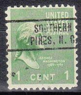 USA Precancel Vorausentwertung Preo, Locals North Carolina, Southern Pines 736 - Vereinigte Staaten