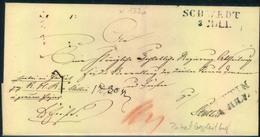 1845; Üaketbegleitung Ab SCHWEDT Nach Stettin - Prusse