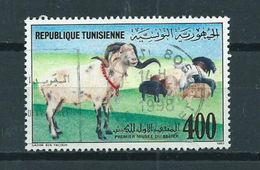 1990 Tunisia Sheep,schaap,animal,dieren,tiere Used/gebruikt/oblitere - Tunesië (1956-...)