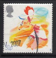 Great Britain 1988 Used Scott #1211 31p Tennis Sports - 1952-.... (Elizabeth II)