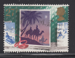 Great Britain 1988 Used Scott #1236 27p Magi, Camels Follow Star Christmas - 1952-.... (Elizabeth II)