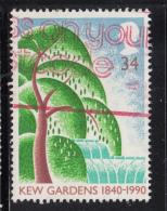 Great Britain 1990 Used Scott #1324 34p Willow Tree Kew Gardens - 1952-.... (Elizabeth II)