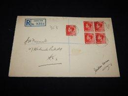 UK 1936 Charlton Registered Cover__(L-9135) - 1902-1951 (Kings)