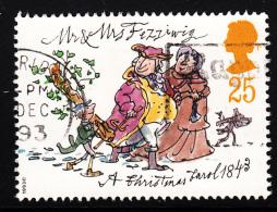 Great Britain 1993 Used Scott #1529 25p The Fezziwigs A Christmas Carol - 1952-.... (Elizabeth II)