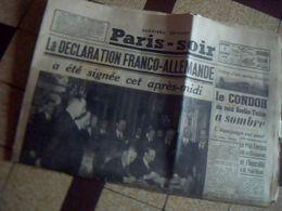Journal Paris Soir Derniere Edition 7 Decembre 1938  Ribbendrop Signe  La Declaration  Franco Allemande  ... - Newspapers