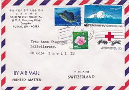 Brief In Die Schweiz (br2724) - Corea Del Sud