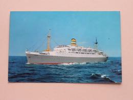 """S.S. """" RYNDAM """" - Holland-America Line - Anno 1966 ( Zie Foto's Voor Detail ) ! - Paquebots"""