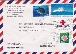 Brief In Die Schweiz (br2725) - Corée Du Sud