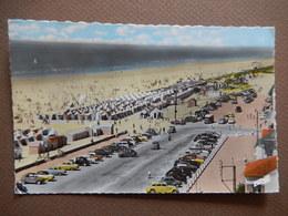 CPA - D85 - RARE - SAINT JEAN DE MONTS - LA GRANDE PLAGE - BEAUCOUP AUTOMOBILES -TRES JOLI CARTE - 1960 -  R11403 - Saint Jean De Monts