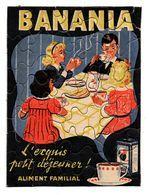 PUZZLE PUBLICITE BANANIA Avec Son Enveloppe - Advertising