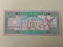 5 Shillings 1994 - Somalia