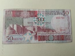 50 Shilin 1989 - Somalia