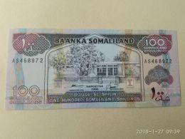 100 Shilin 1996 - Somalia