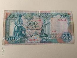 500 Shilin 1989 - Somalia