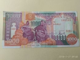 1000 Shilin 1990 - Somalia