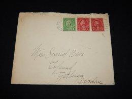 USA 1928 New York Cover To Sweden__(L-9886) - Etats-Unis