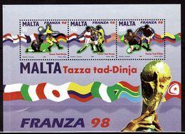 MALTE  BF 17  * *   Cup 1998 Football Soccer Fussball - Coupe Du Monde