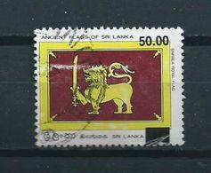 2007 Sri Lanka Overprint,flag Used/gebruikt/oblitere - Sri Lanka (Ceylon) (1948-...)