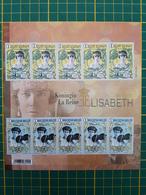 Belgique-België -Timbres & Bloc F4520/21 Non Dentelé En Couleur Sans N° Au Verso (GCD13) - Blocks & Kleinbögen Schwarz