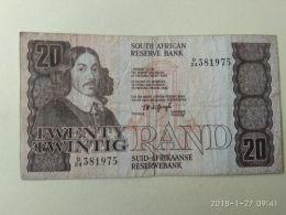 20 Rand 1984/93 - Sudafrica