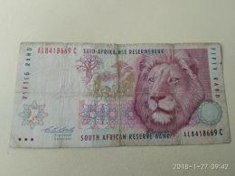 50 Rand 1992 - Sudafrica