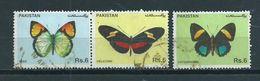 1995 Pakistan Vlinders,papillon,schmetterlinge Used/gebruikt/oblitere - Pakistan