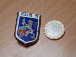 INSIGNE EMAIL. CRS 3. DRAGO PARIS. - Polizia