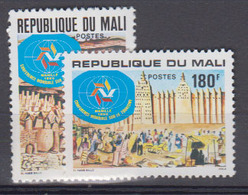 MALI      1980             390 / 391          COTE       2 , 30       EUROS            ( 763 ) - Mali (1959-...)