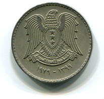 1979 Syria 50 Piastres Coin - Syria